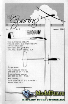 Radio Controlled Soaring Digest Vol.3 No.1 (January 1986)