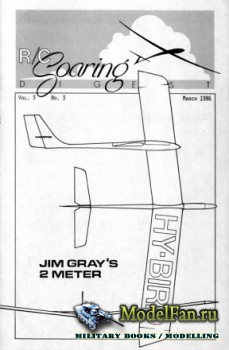 Radio Controlled Soaring Digest Vol.3 No.3 (March 1986)