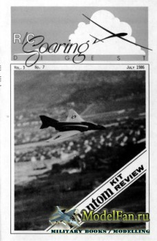 Radio Controlled Soaring Digest Vol.3 No.7 (July 1986)