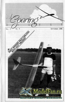 Radio Controlled Soaring Digest Vol.3 No.9 (September 1986)