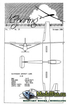 Radio Controlled Soaring Digest Vol.3 No.10 (October 1986)