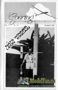 Radio Controlled Soaring Digest Vol.3 No.11 (November 1986)