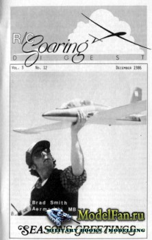 Radio Controlled Soaring Digest Vol.3 No.12 (December 1986)