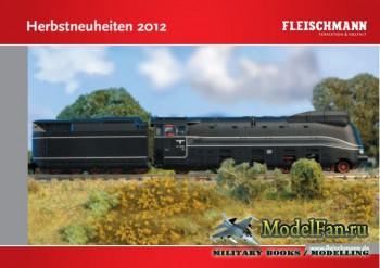 Fleischmann. Herbstneuheiten за 2012 год