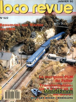 Loco-Revue №522 (January 1990)