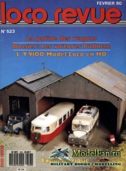 Loco-Revue №523 (February 1990)