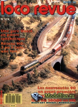 Loco-Revue №524 (March 1990)