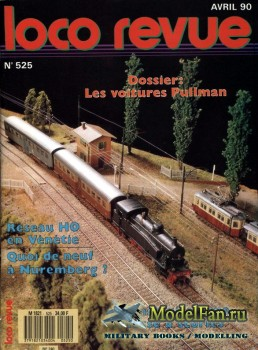 Loco-Revue №525 (April 1990)