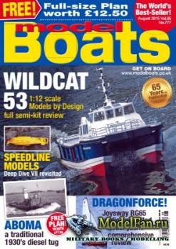 Model Boats (August 2015)
