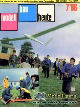 Modell Bau Heute (July 1986)