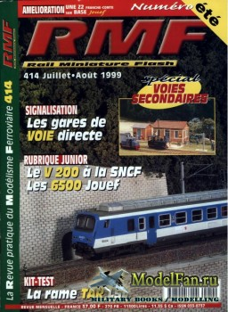RMF Rail Miniature Flash 414 (July-August 1999)