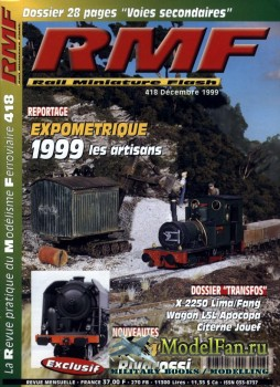 RMF Rail Miniature Flash 418 (December 1999)