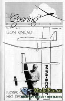Radio Controlled Soaring Digest Vol.4 No.2 (February 1987)