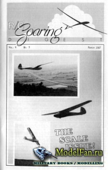 Radio Controlled Soaring Digest Vol.4 No.3 (March 1987)