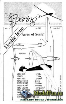 Radio Controlled Soaring Digest Vol.4 No.8-9 (August-September 1987)