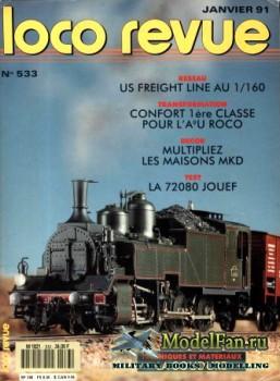 Loco-Revue №533 (January 1991)