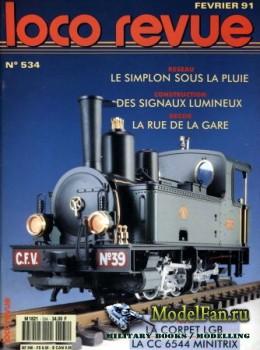 Loco-Revue №534 (February 1991)
