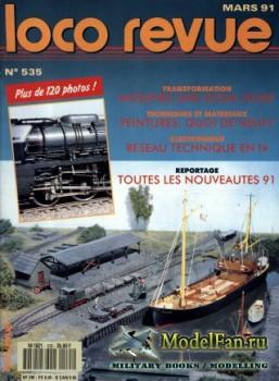 Loco-Revue №535 (March 1991)