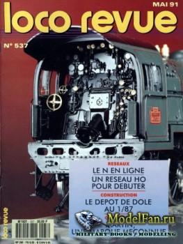 Loco-Revue №537 (May 1991)