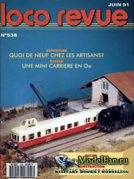 Loco-Revue №538 (June 1991)