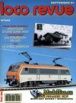 Loco-Revue №540 (September 1991)
