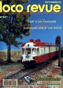 Loco-Revue №541 (October 1991)