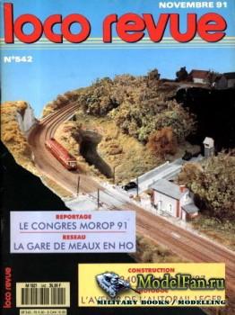Loco-Revue №542 (November 1991)