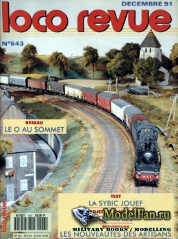 Loco-Revue №543 (December 1991)