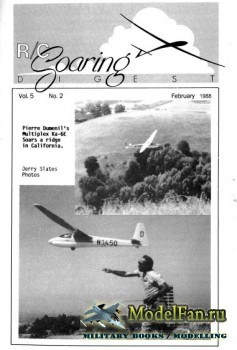 Radio Controlled Soaring Digest Vol.5 No.2 (February 1988)