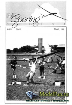 Radio Controlled Soaring Digest Vol.5 No.3 (March 1988)