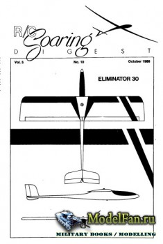 Radio Controlled Soaring Digest Vol.5 No.10 (October 1988)