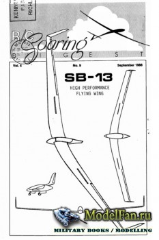 Radio Controlled Soaring Digest Vol.5 No.9 (September 1988)