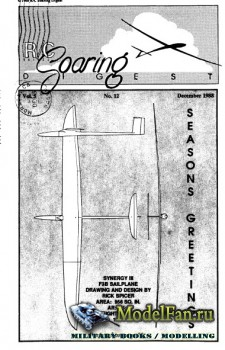 Radio Controlled Soaring Digest Vol.5 No.12 (December 1988)