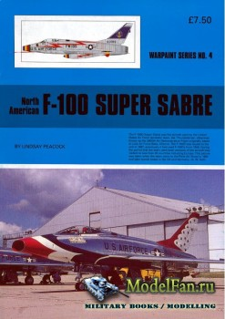 Warpaint №4 - North American F-100 Super Sabre