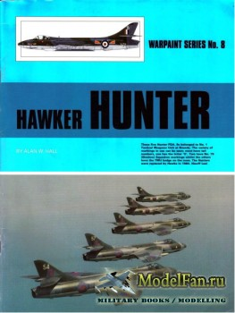 Warpaint №8 - Hawker Hunter