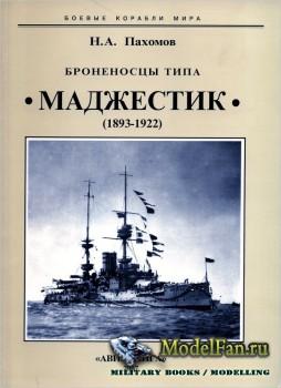 Броненосцы типа «Маджестик». 1893-1922 гг. (Н.А. Пахомов)