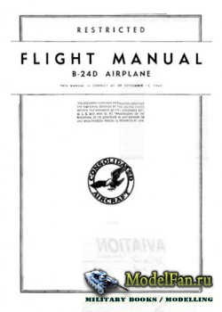 Flight Manual B-24D Airplane