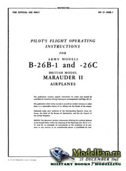 Pilot's Flight Operating Instructions for Army Models B-26B-1 and B-26C