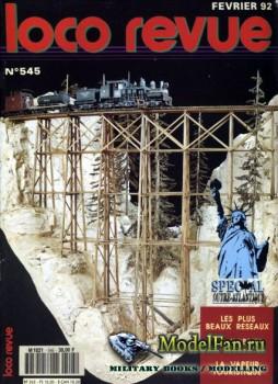 Loco-Revue №545 (February 1992)