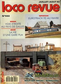 Loco-Revue №550 (July-August 1992)