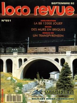 Loco-Revue №551 (September 1992)