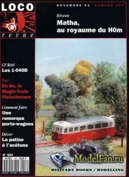 Loco-Revue №553 (November 1992)