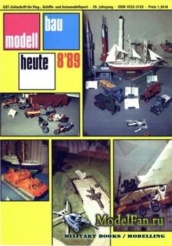 Modell Bau Heute (August 1989)