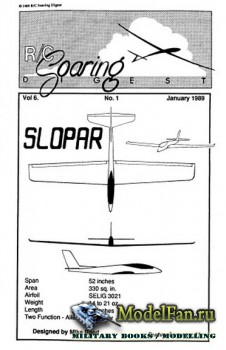 Radio Controlled Soaring Digest Vol.6 No.1 (January 1989)