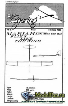 Radio Controlled Soaring Digest Vol.6 No.2 (February 1989)