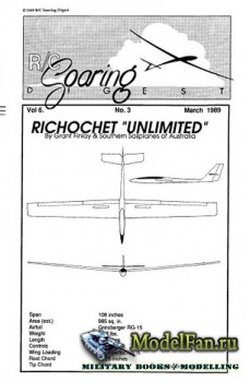 Radio Controlled Soaring Digest Vol.6 No.3 (March 1989)