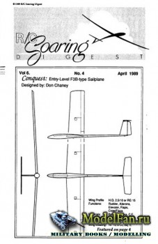 Radio Controlled Soaring Digest Vol.6 No.4 (April 1989)