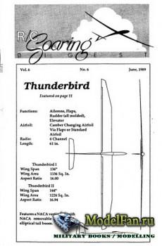 Radio Controlled Soaring Digest Vol.6 No.6 (June 1989)