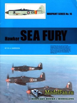 Warpaint №16 - Hawker Sea Fury