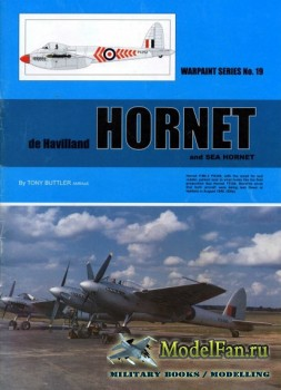 Warpaint №19 - De Havilland Hornet & Sea Hornet